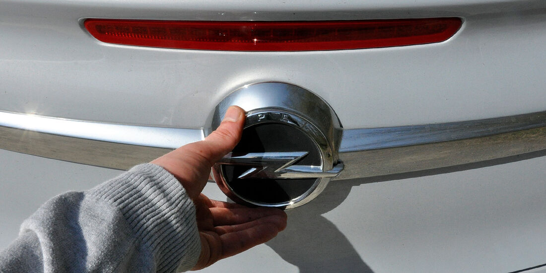 Opel Cascada, Heckklappe