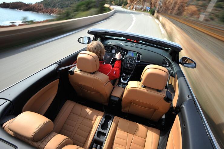 Opel Cascada, Impression, Draufsicht