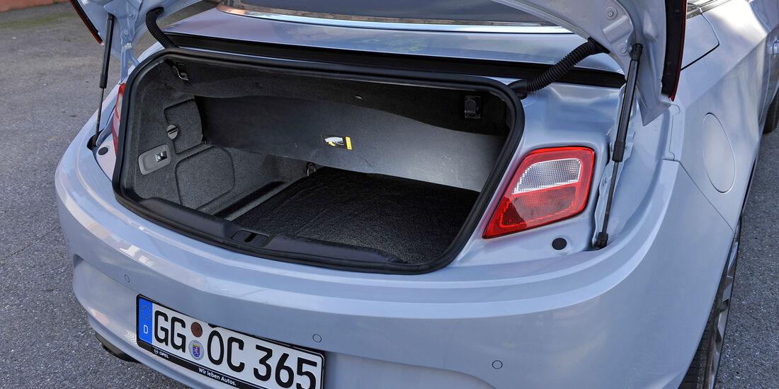 Opel Cascada, Kofferraum