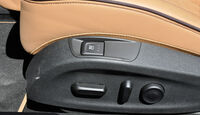 Opel Cascada, Sitzverstelung elektrisch