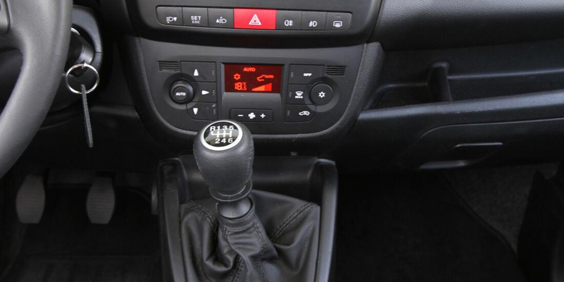 Opel Combo, Mittelkonsole