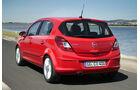 Opel Corsa 1.0, Heckansicht