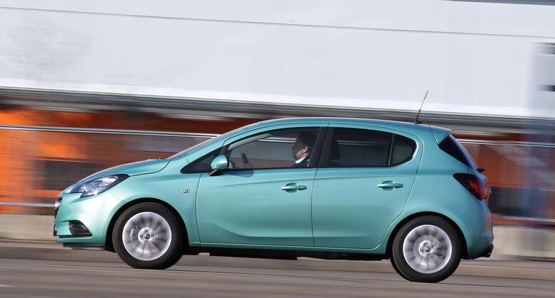 Opel Corsa 1.0 Turbo, Seitenansicht