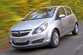 Opel Corsa, Frontansicht