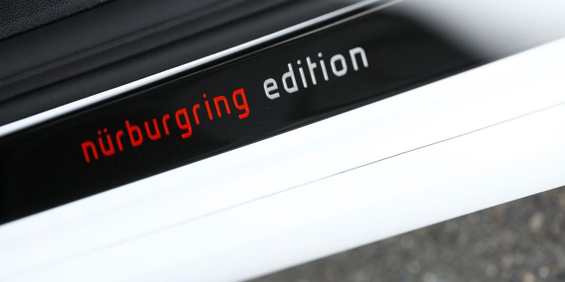 Opel Corsa OPC Nürburgring Edition, Schriftzug, Typenbezeichnung