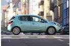 Opel Corsa, Seitenansicht