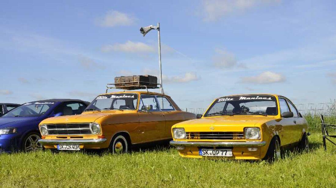 Opel Corsa mit BMW-Nieren