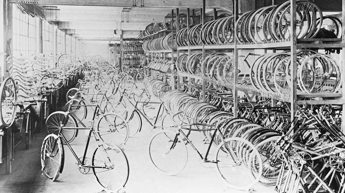 Opel Fahrradproduktion 1912