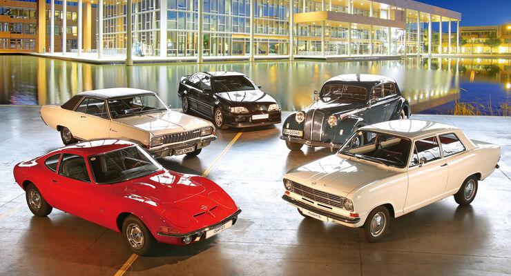 Opel GT, Diplomat, Lotus Omega, Admiral, Kadett B