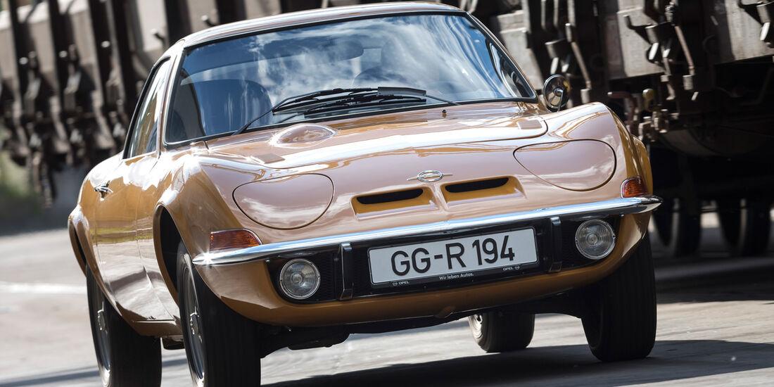 Opel GT, Frontansicht