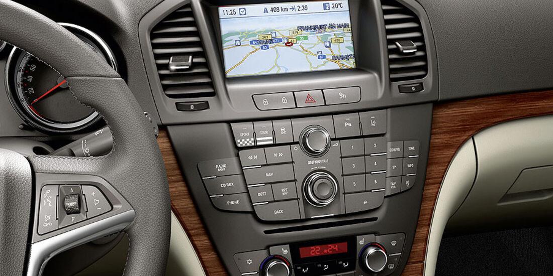 Opel Insgnia, Navigationssystem, Klimaanlage