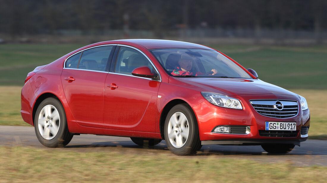 Opel Insignia 2.0 Turbo 4x4, Seitenansicht