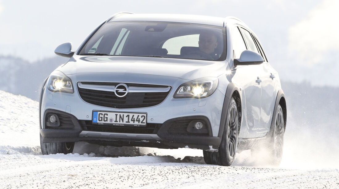 Opel Insignia Country Tourer 2.0 CDTI, Frontansicht