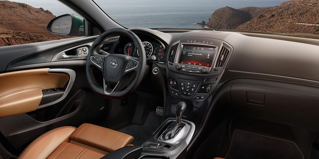 Opel Insignia Facelift, IAA 2013, Cockpit