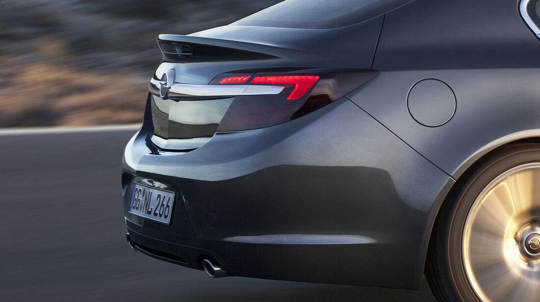 Opel Insignia Facelift, IAA 2013, Heck Limousine