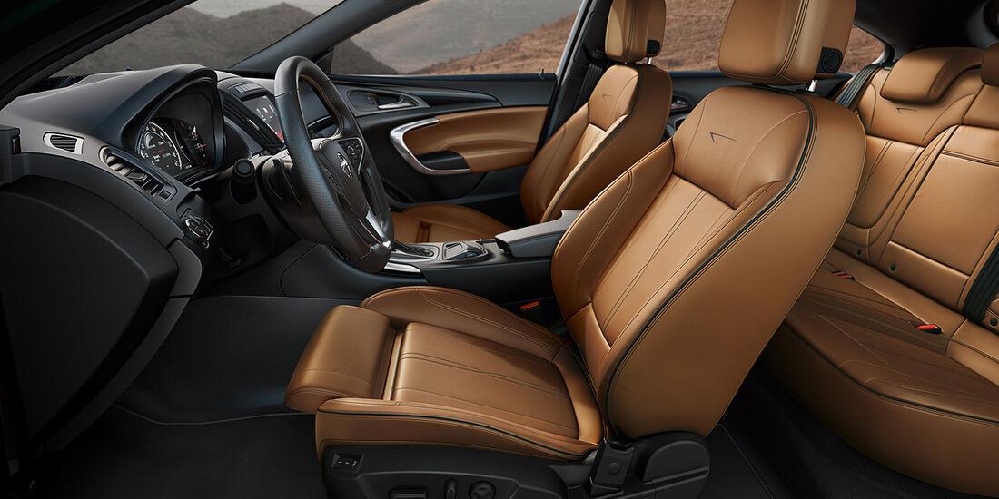 Opel Insignia Facelift, IAA 2013, Innenraum