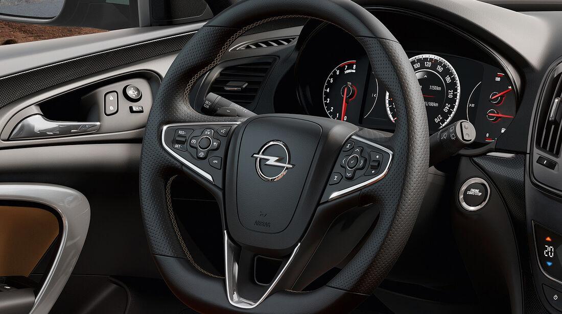 Opel Insignia Facelift, IAA 2013, Lenkrad