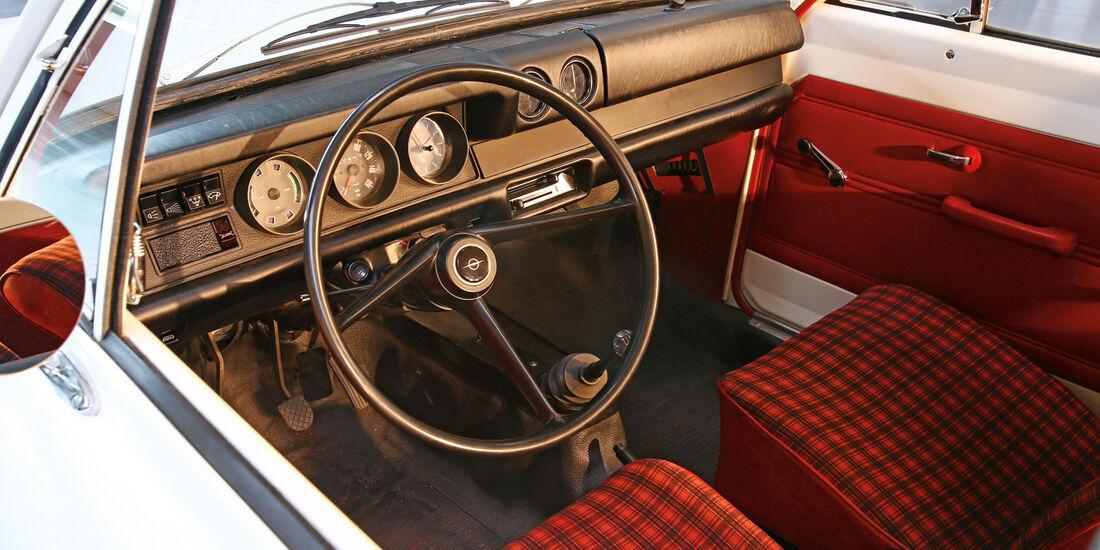 Opel Kadett B, Innenraum