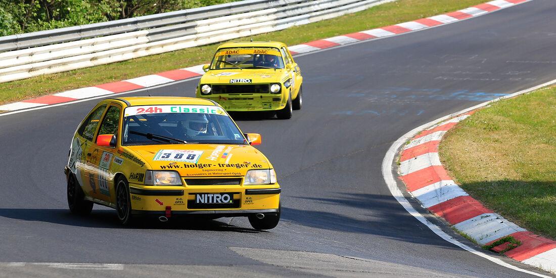 Opel Kadett GSI 16 V - 24h Classic - Nürburgring - Nordschleife