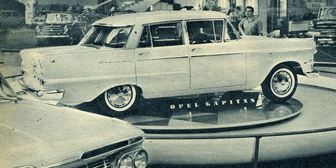 Opel, Kapitän, IAA 1959