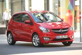 Opel Karl 1.0, Frontansicht