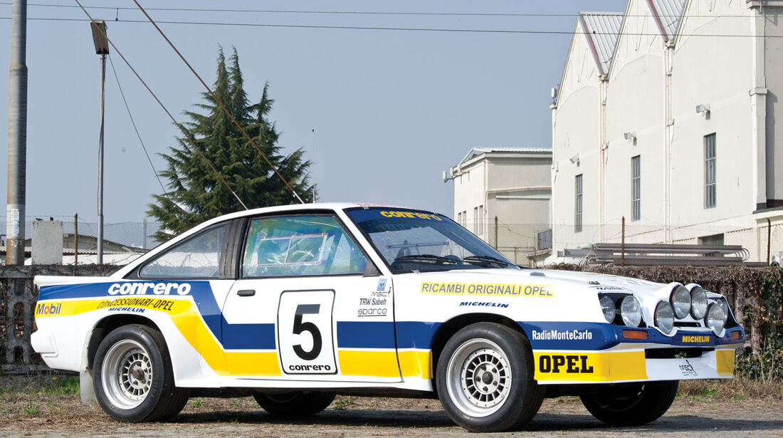 Opel Manta 400 Gruppe B Rallyefahrzeug RM Auctions Monaco 2012