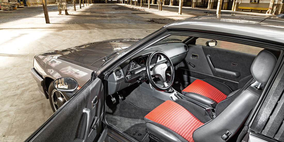 Opel Manta GSi, Cockpit, Fahrersitz