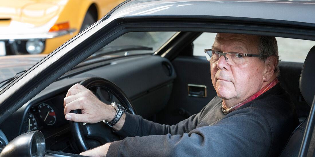 Opel Manta GSi, Cockpit, Franz-Peter Hudek