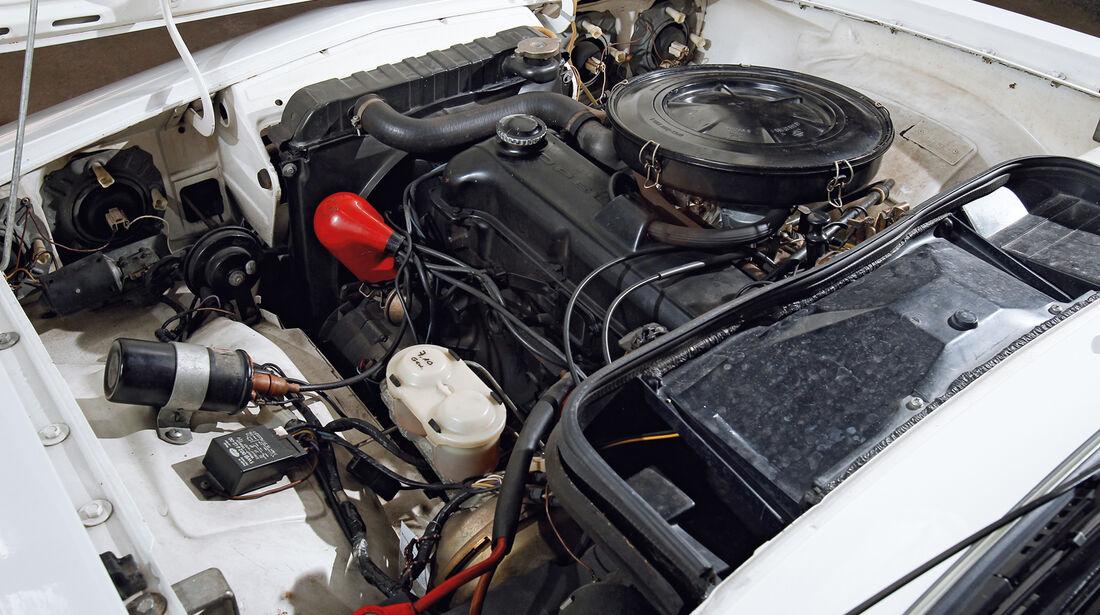 Opel Manta, Motor