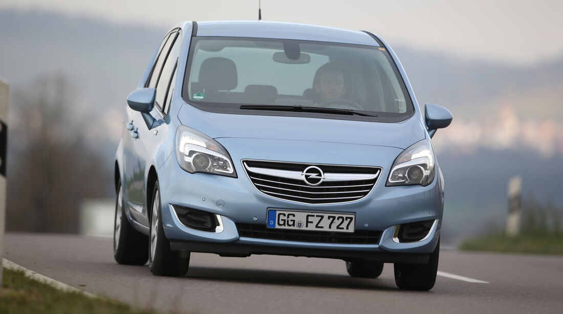 Opel Meriva 1.4 Innovation, Frontansicht