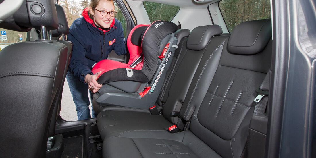 Opel Meriva 1.4 ecoFlex, Fondsitz, Kindersitz