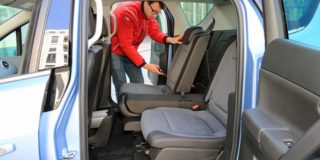 Opel Meriva 1.6 CDTI, Fondsitz, Umklappen