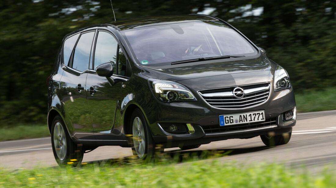 Opel Meriva 1.6 CDTI, Frontansicht