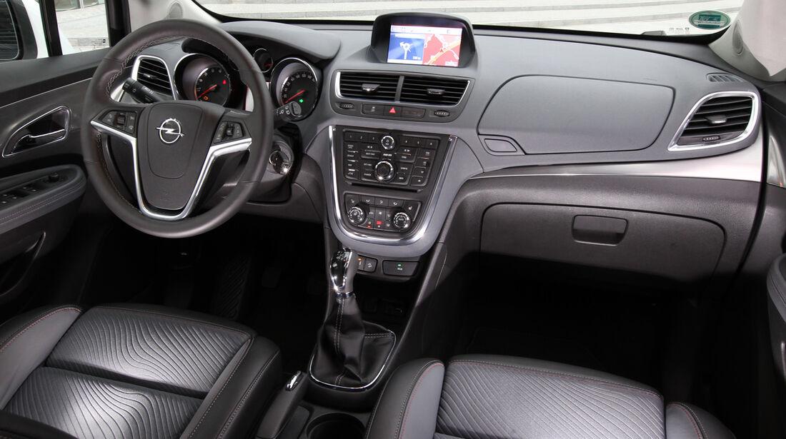 Opel Mokka 1.4 Turbo 4x4, Cockpit, Lenkrad