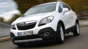Opel Mokka 1.4 Turbo 4x4, Frontansicht