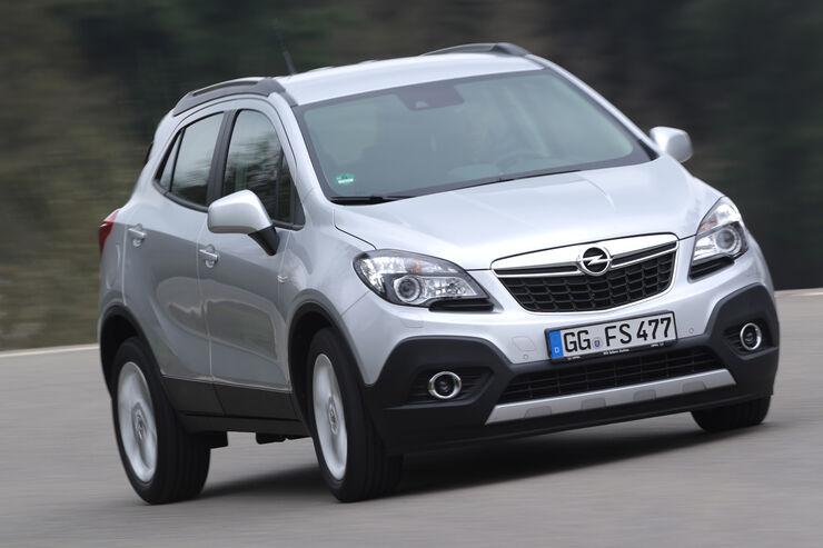Opel Mokka 1.6 Edition, Frontansicht