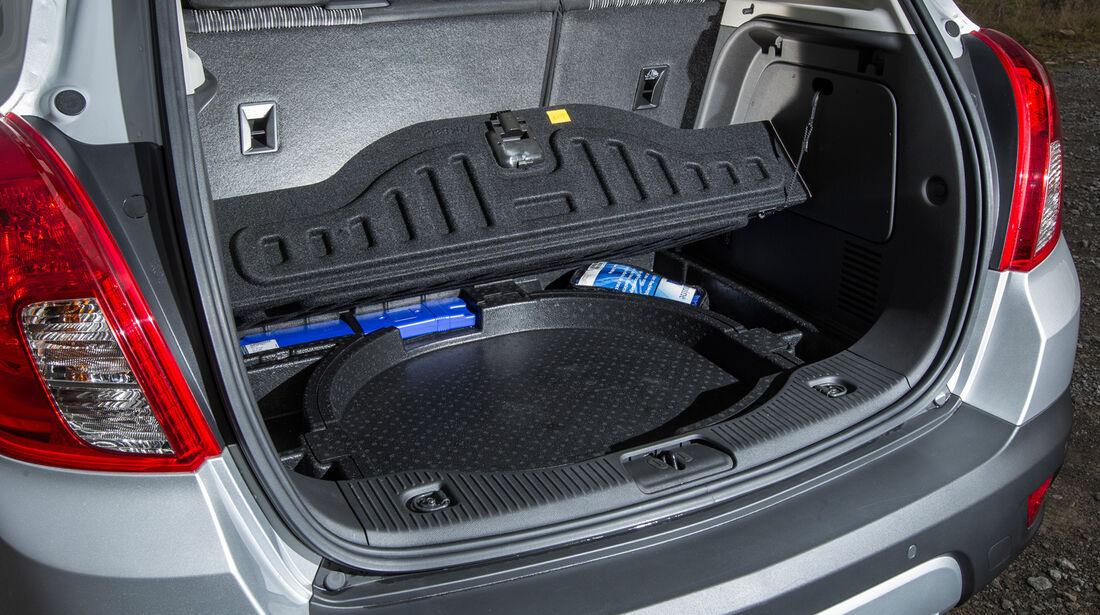 Opel Mokka 1.7 CDTi, Kofferraum, Ablagefach