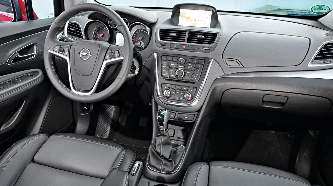 Opel Mokka, Cockpit, Lenkrad