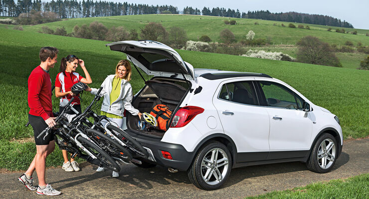 Opel Mokka, Kofferraum
