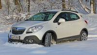Opel Mokka Winter Schnee SUV