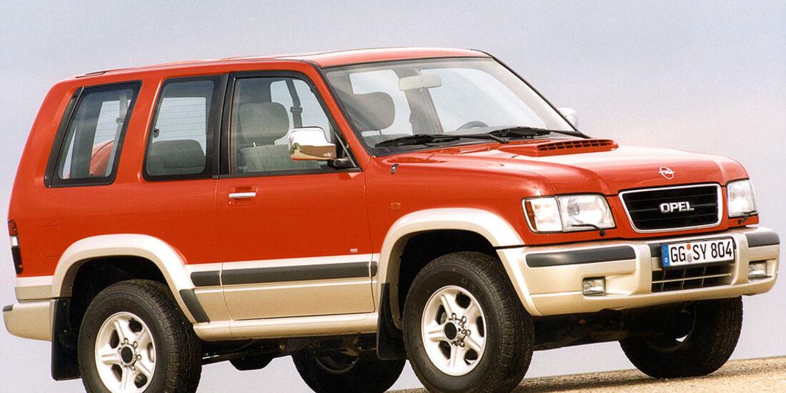 Opel Monterey, RS, 1998-1999