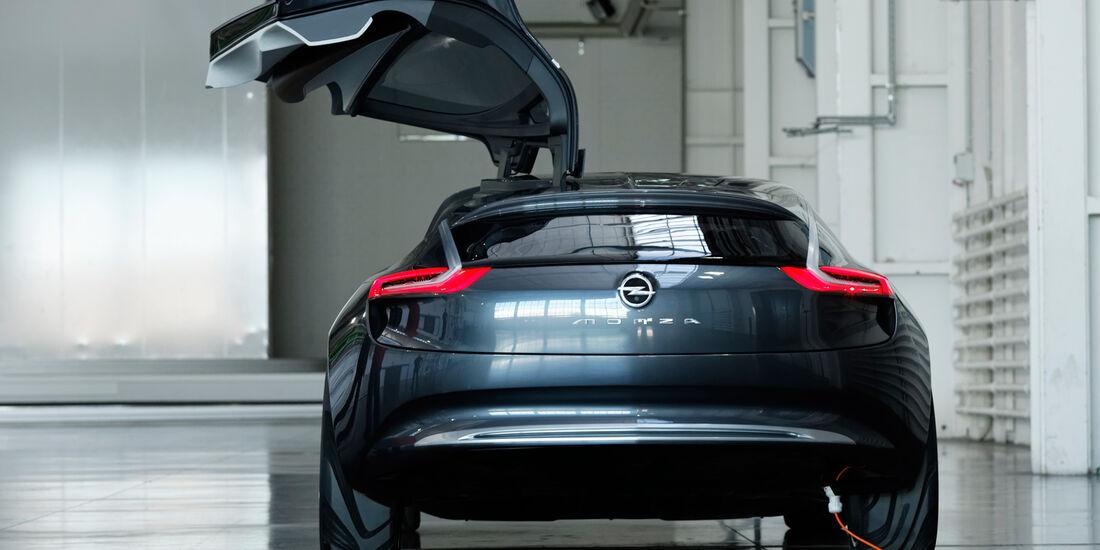 Opel Monza, Kofferraumklappe