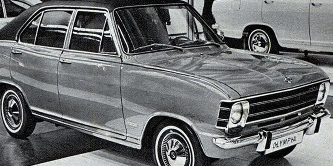Opel, Olypmpia, IAA 1967
