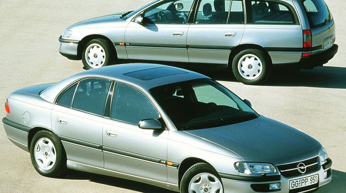Opel Omega B, MV6, Limousine, Caravan, 1994-1997