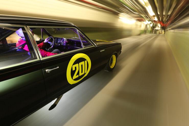Opel Rekord C, Schwarze Witwe, Seitenführung