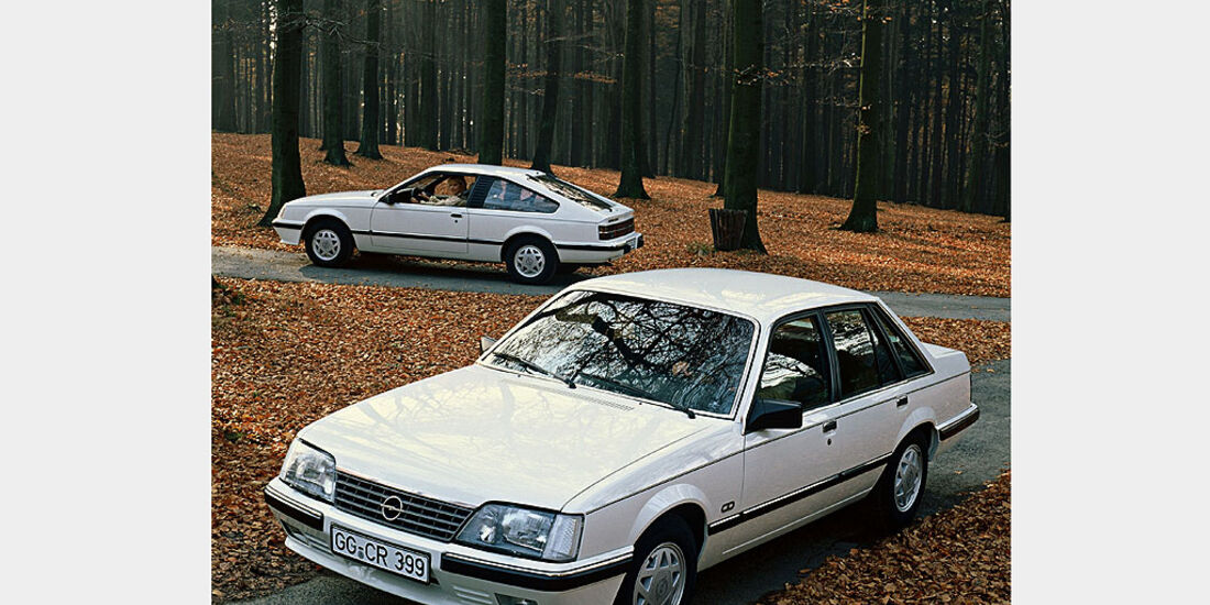Opel Senator A, 1982-1986, Opel Monza A, 1982-1986