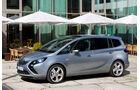 Opel Zafira, Seitenansicht