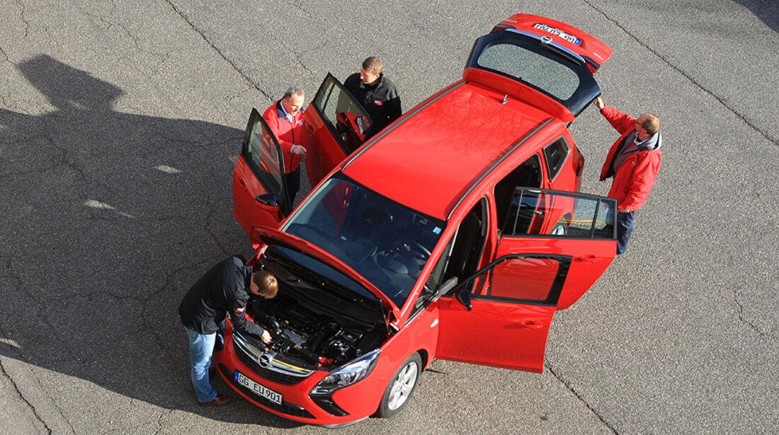 Opel Zafira Tourer 1.4 Turbo, Kofferraum