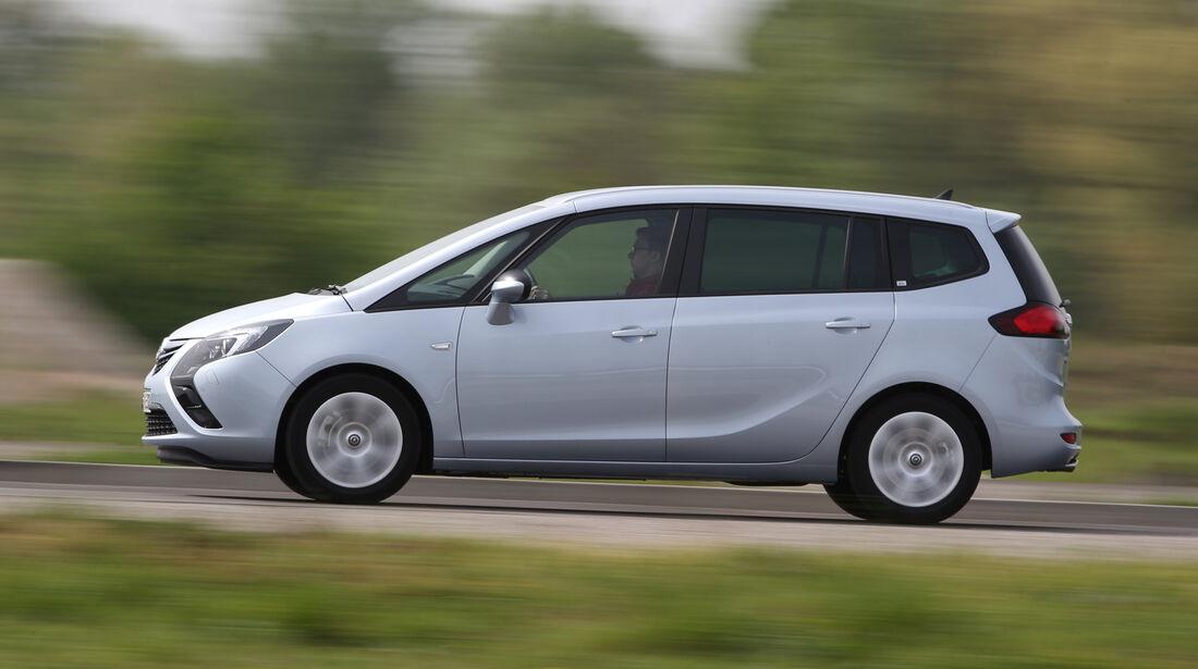 Opel Zafira Tourer 1.6 DI Turbo, Seitenansicht