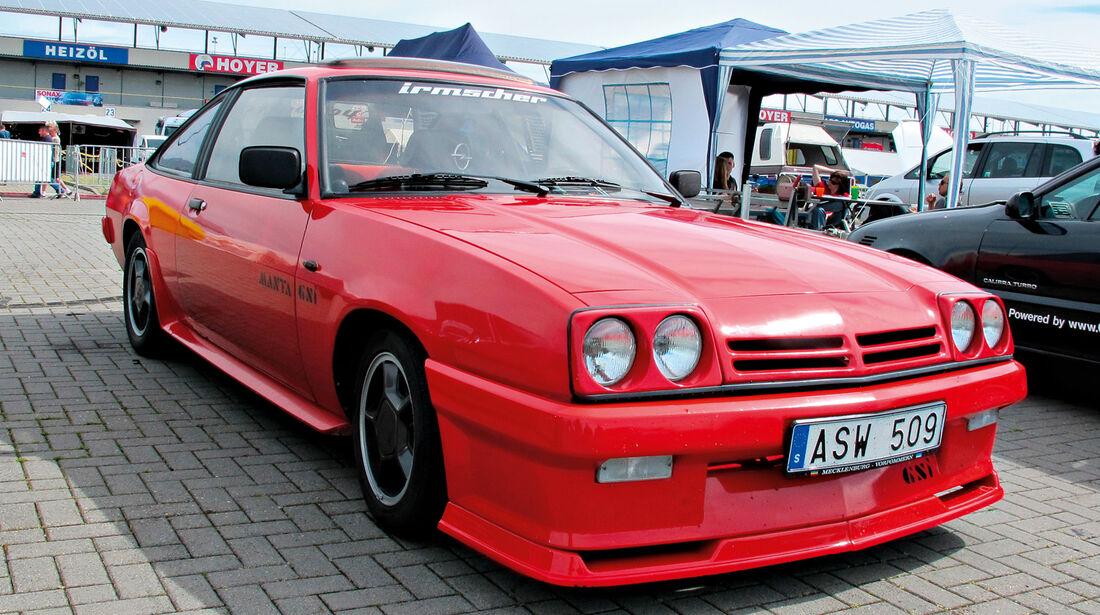 Opeltreffen, Opel Manta, Irmscher